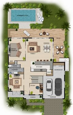 landscape design software with 2d and 3d application