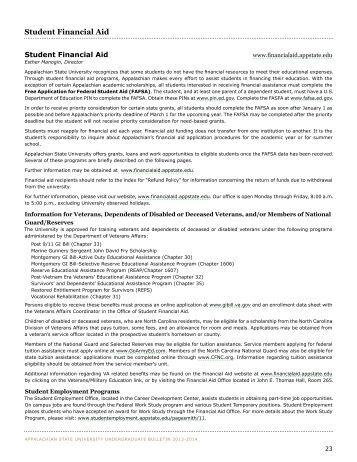 appalachian state university application fee