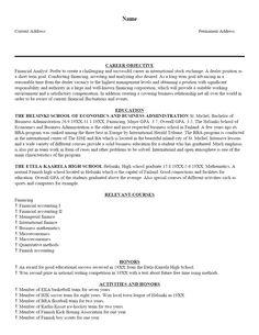 cv for bursary application pdf