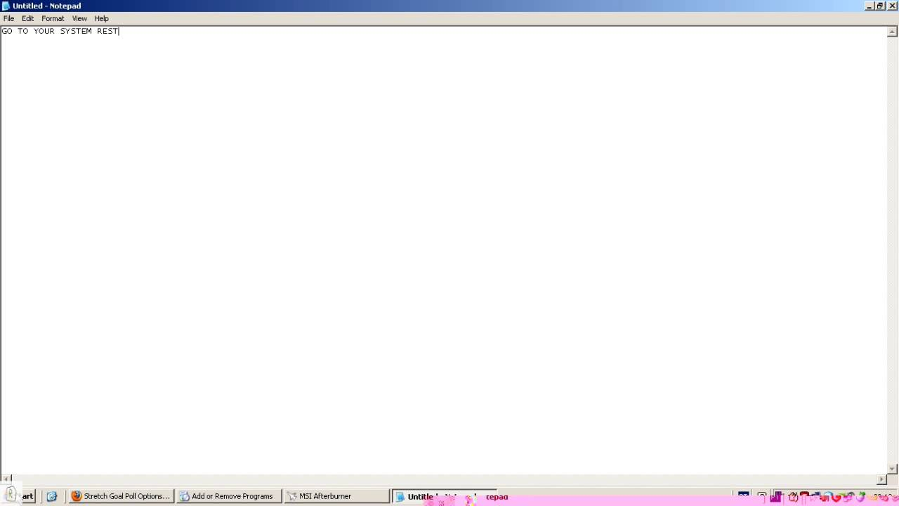 the application failed to initialize properly oxcoooo135 windows vista