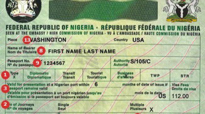 german embassy in nigeria visa application form