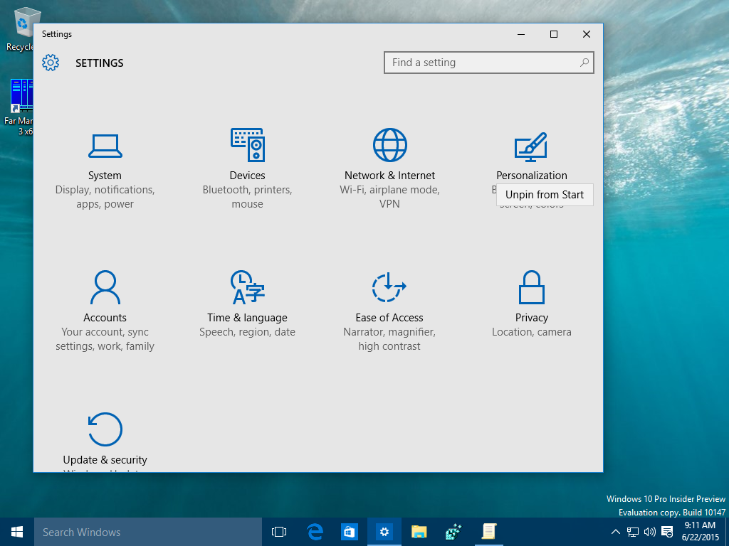 windows 10 choose where applications open