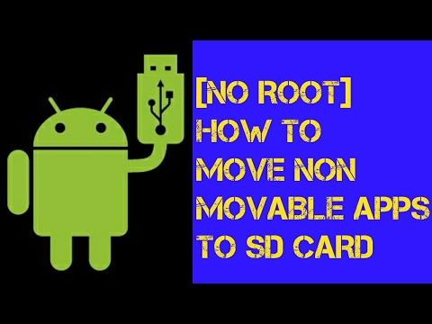 how to transfer applications to sd card android