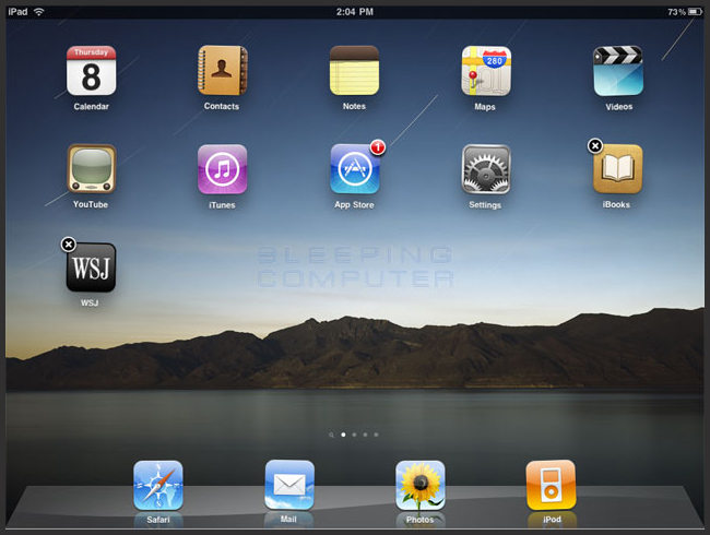 how to uninstall application on ipad air 2