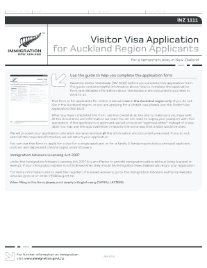 application for 189 visa requirements
