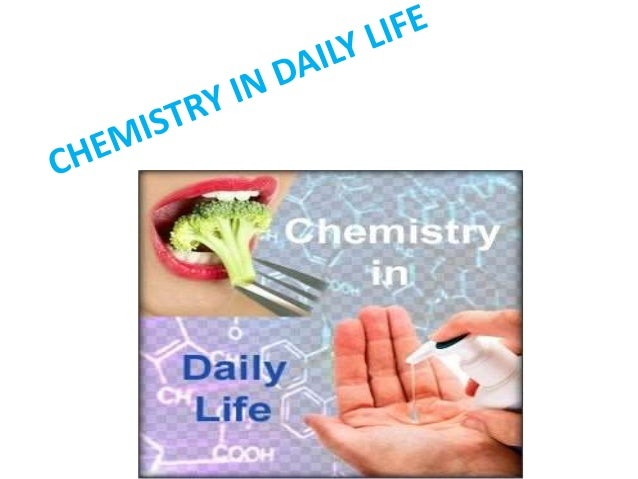 application of chemistry in daily life pdf