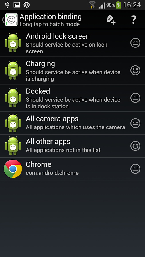 application that detects android hacked