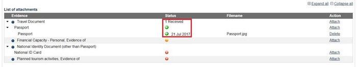 australian evisitor visa application france