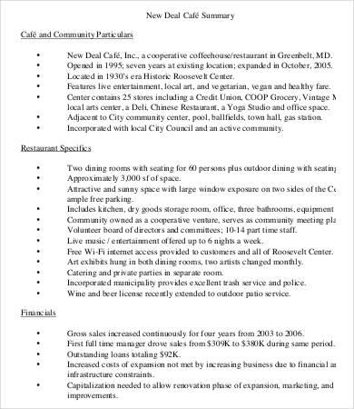 coffee shop job application template
