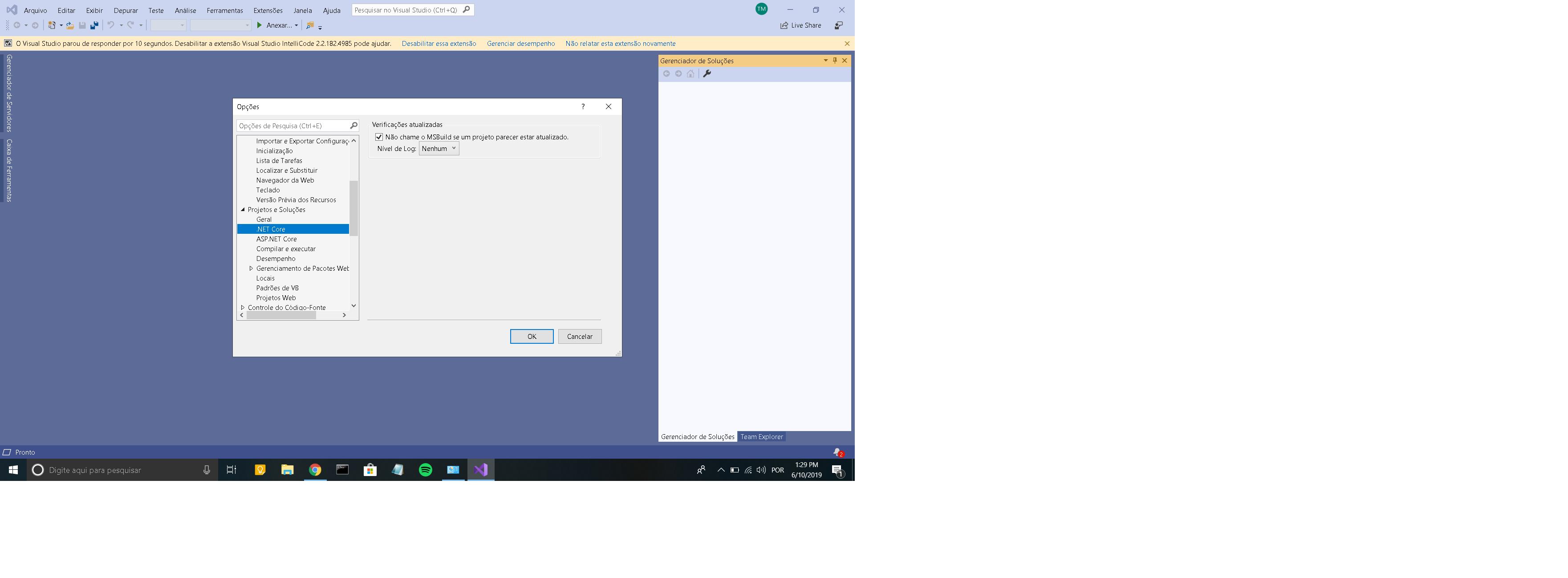 creating windows application using visual studio