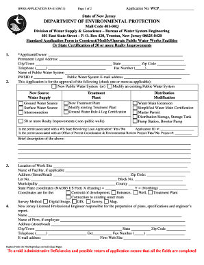 how to complete application for permit form