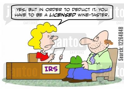is the application for an alcohol licence deductible