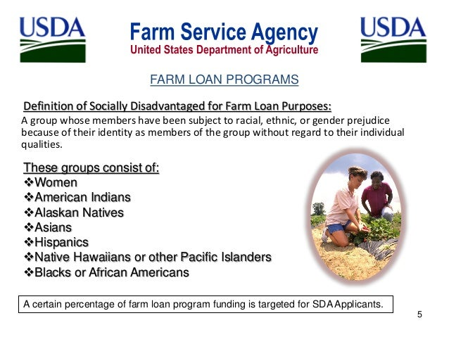 fsa farm loan application help