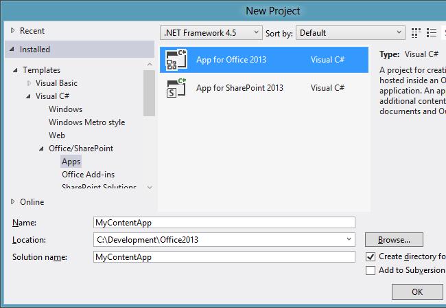 how to create angularjs application in visual studio 2012