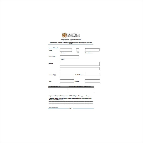 jcf gov jm application form