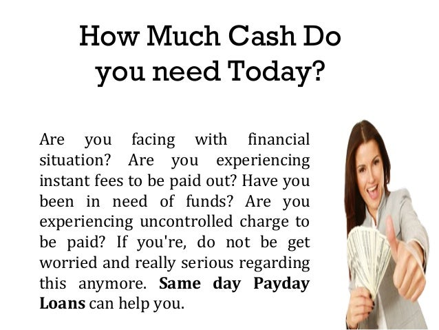 payday loans instant cash loans application process