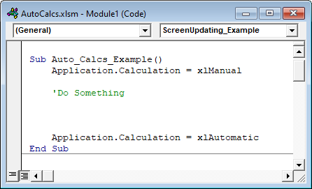 turn excel into an automated application